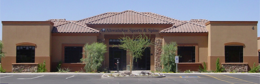 Outdoor View of Ahwatukee Sports & Spine